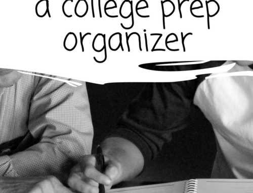 Peek Inside the Comprehensive College Prep Organizer (and a FREEBIE)
