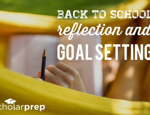 Back to School Reflection and Goal Setting