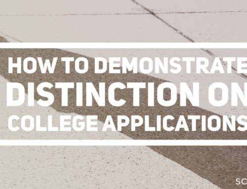 How to Demonstrate Distinction on College Applications