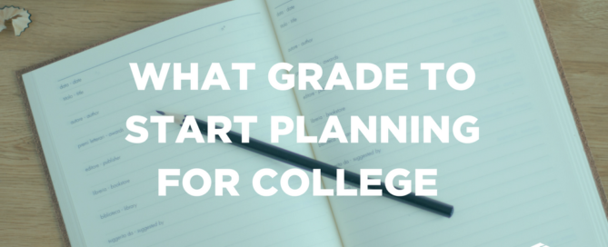 What grade to start planning for college