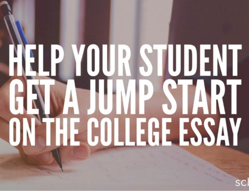 Parents of Juniors: Help Your Child Get a Jump Start on the College Essay