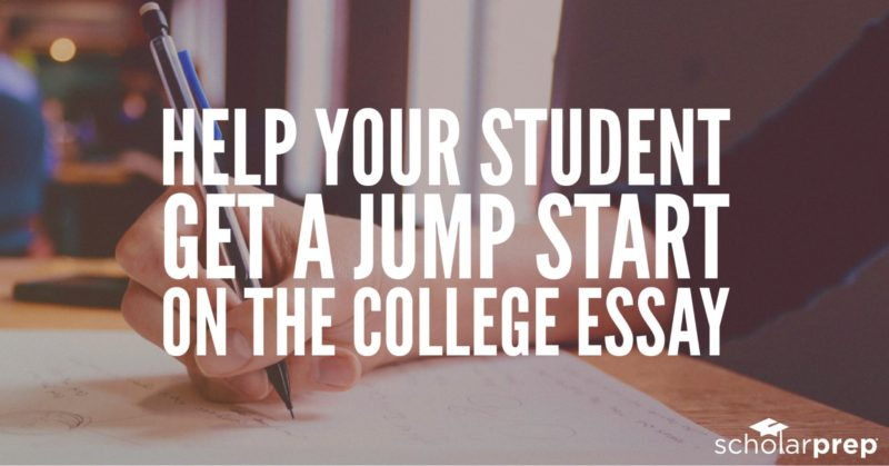 help getting started college essay