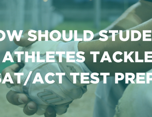 How Should Student Athletes Tackle SAT/ACT Test Prep?