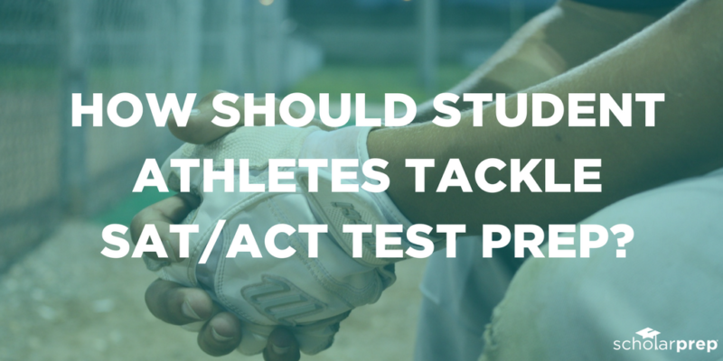 Student athletes act and sat test prep