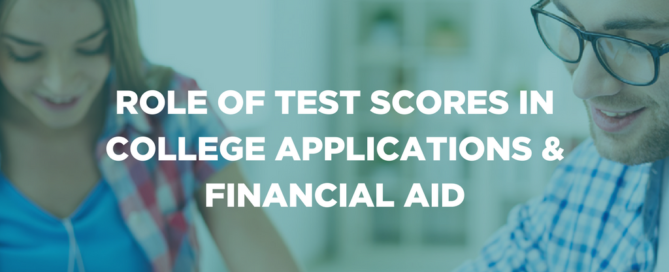 Role of test scores