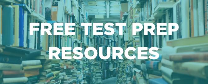 FREE TEST PREP RESOURCES