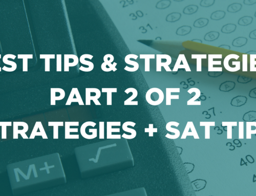 Test Tips & Strategies: Part 2 of 2