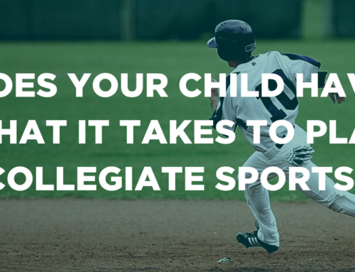 Does your child have what it takes to play collegiate sports?