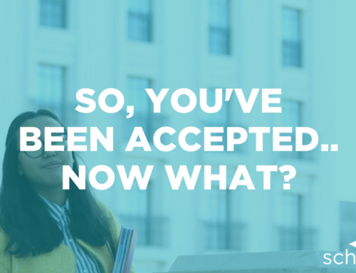 So, you've been accepted.. now what?