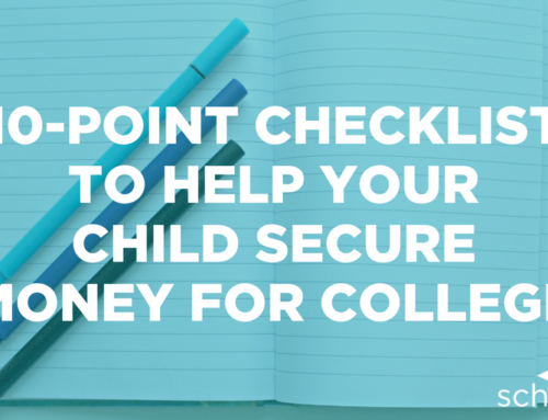 10-Point Checklist to Help Your Child Secure Money for College