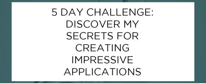 5 Day Challenge Blog