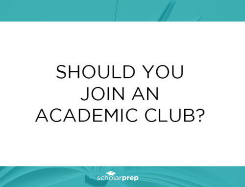 Should you join an academic club?