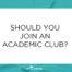 Academic Club Blog Post