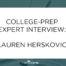 Lauren Herskovic Blog Post