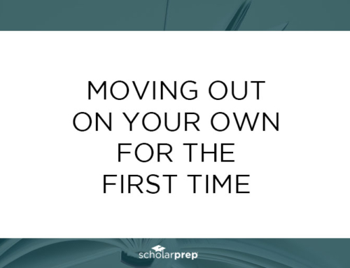 Moving Out On Your Own for the First Time
