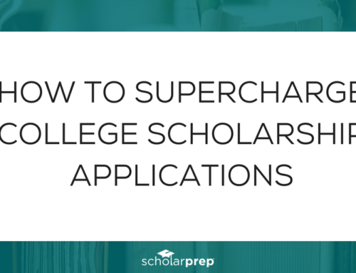 How to supercharge college scholarship applications