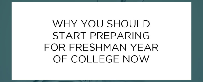 Why You Should Begin Preparing Now