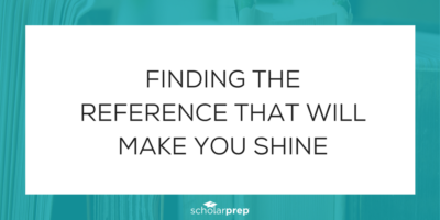 FINDING THE REFERENCE THAT WILL MAKE YOU SHINE