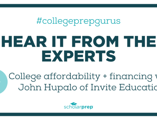 College Affordability + Financing with John Hupalo of Invite Education