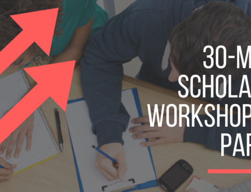 FREE 30-Minute Scholarship Workshops for Parents